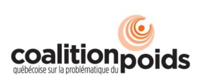 Logo : Coalition québécoise sur la problématique du poids (Groupe CNW/Coalition québécoise sur la problématique du poids)