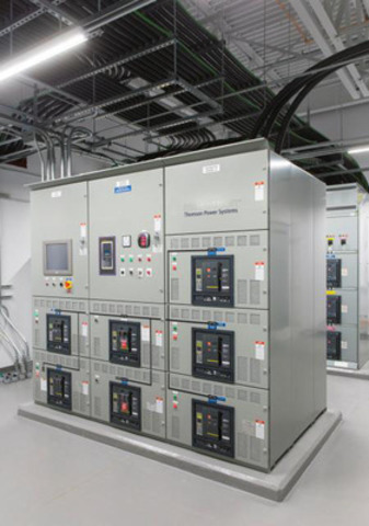 The 24,000-square foot (2,230 square metre) 1MW data centre can quadruple its capacity for future needs. (CNW Group/Bell Aliant Inc.)