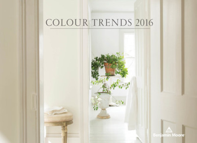 The Benjamin Moore Colour of the Year 2016 is Simply White OC-117. Simply White is part of a curated palette of 23 colours that make up Colour Trends 2016  (CNW Group/Benjamin Moore)