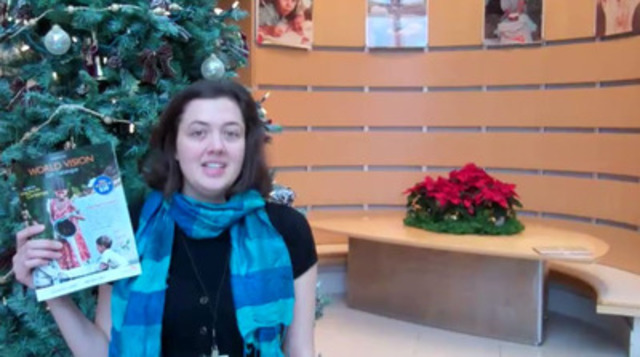 Video: A recent poll shows 3 in 4 Canadians want to give green gifts this holiday season. Genevieve Barber of World Vision suggests a great last-minute, environmentally-friendly present.