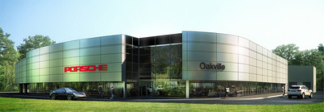 New Porsche Centre Oakville rendering (CNW Group/Policaro Automotive Family)