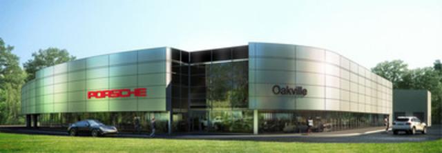 New Porsche Centre Oakville rendering (CNW Group/Policaro Automotive Family)