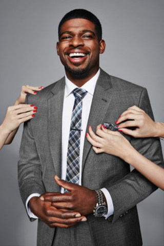 When it comes to fashion, P.K. Subban plays offense. (CNW Group/Reitmans (Canada) Limited)