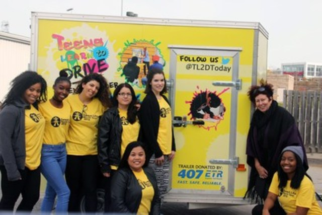 407 ETR and Teens Learn to Drive - The Sweet Life Road Show Event Trailer (CNW Group/Teens Learn to Drive)