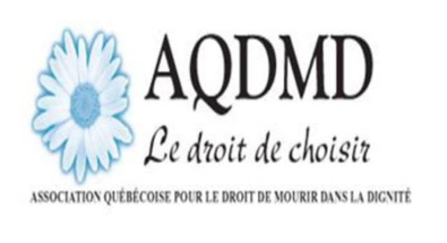Association québécoise pour le droit de mourir dans la dignité (Groupe CNW/Association québécoise pour le droit de mourir dans la dignité (AQDMD))