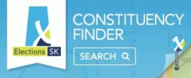 Constituency Finder Banner (CNW Group/Elections Saskatchewan)