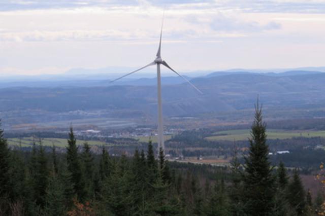 La Caisse invests $42 million in Invenergy's Parc des Moulins wind power project in Québec (CNW Group/Caisse de dépôt et placement du Québec)