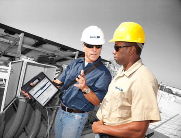 FirstOnSite's mobileCT software drives tablet devices used by Project Managers to gather information, develop site reports and drive the job cycle directly from the field (CNW Group/FirstOnSite Restoration L.P.)