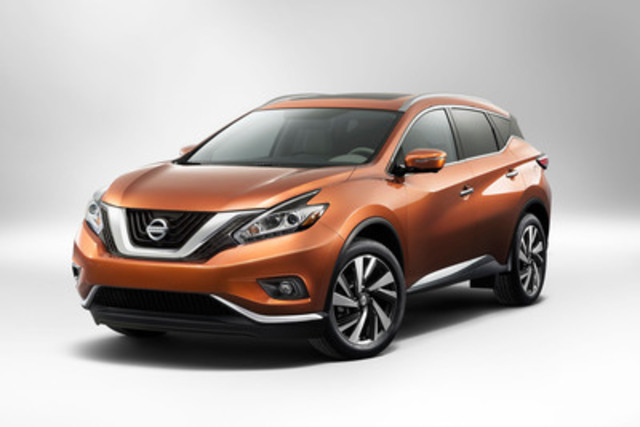 NEW YORK (April 16, 2014) - Nissan's all-new 2015 Nissan Murano made its world auto show debut today at the New York International Auto Show. (CNW Group/Nissan Canada Inc.)