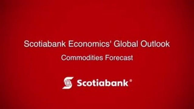 Video: Scotiabank's Commodity Price Index report