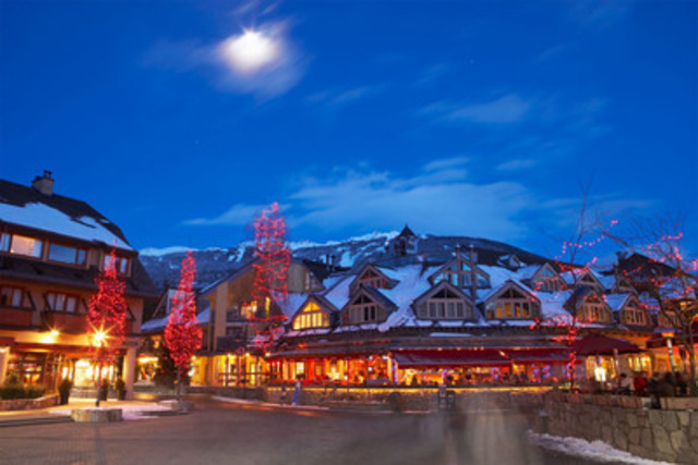 Make it your New Year's resolution to travel more, while still being active. Hit the slopes in a popular ski destination like Whistler, BC. (CNW Group/Hotels.com)