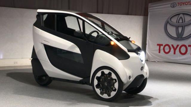 Videoé: L'avenir de la mobilité : Le véhicule concept Toyota i-Road fait ses débuts canadiens au Salon de l'auto de Toronto