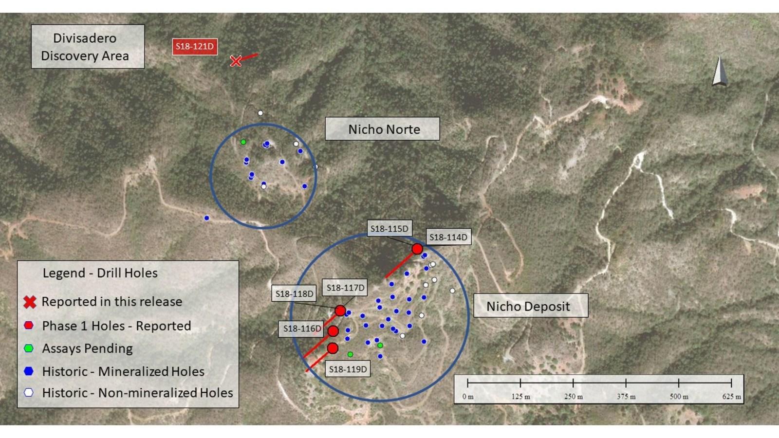 Figure 1 – Drill Hole Location Plan