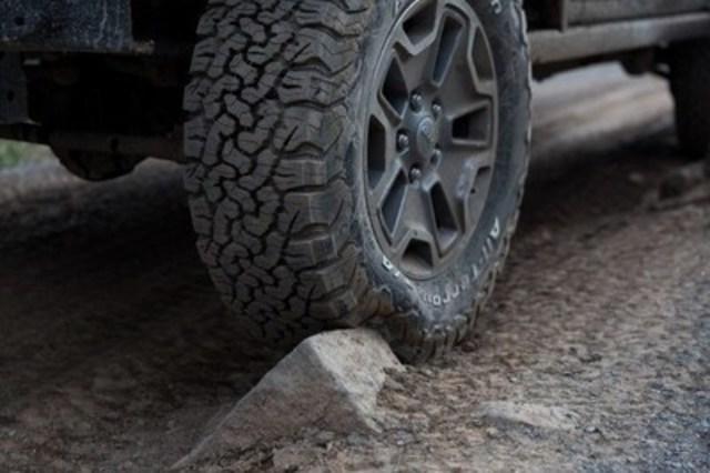 Les pneus BFGoodrich(MD) ont vendu plus d'un million de pneus All-Terrain T/A(MD) KO2 en Amérique du Nord (Groupe CNW/BFGoodrich)