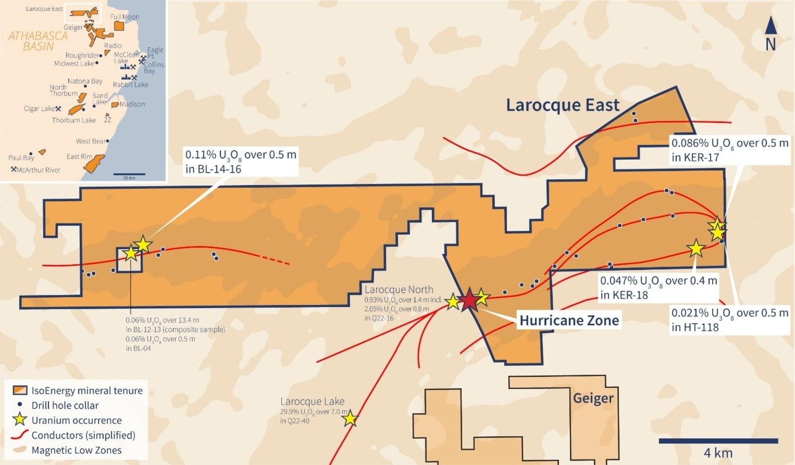 Figure 1 –Larocque East Property Map