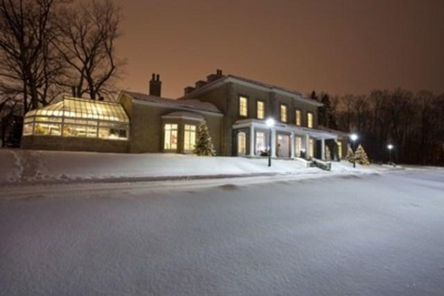 La somptueuse villa du domaine Cataraqui ©CCNQ, Imagenomade.com (Groupe CNW/Commission de la capitale nationale du Québec (CCNQ))