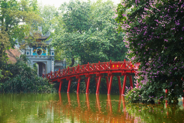 The Hotel Price Index (HPI) can help travellers find affordable destinations, like Hanoi, to gain authentic cultural experiences. (CNW Group/Hotels.com)