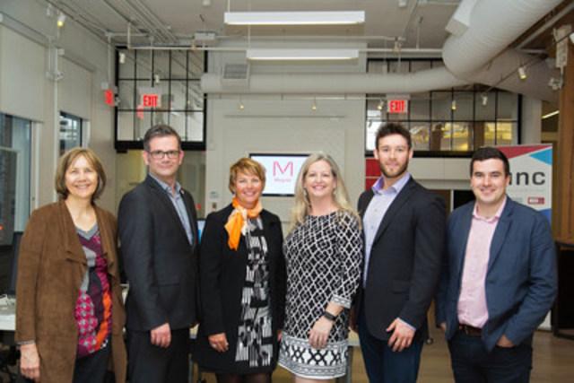 L'université Ryerson et Tangerine ont officiellement lancé leur nouveau « Thinkubator », pépinière unique en son genre dédiée aux entreprises canadiennes en démarrage qui cherche à croître, par un événement portes ouvertes avec coupé de ruban qui a eu lieu hier soir à Toronto. (Groupe CNW/Tangerine)