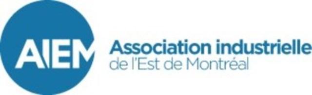 Logo : Association Industrielle de l'Est de Montréal (AIEM) (Groupe CNW/Association Industrielle de l'Est de Montréal (AIEM))