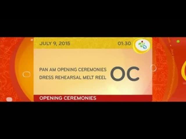 Vidéo : TO2015 et CBC/Radio-Canada offrent un avant-goût de la cérémonie d'ouverture des Jeux panaméricains grandement anticipée
