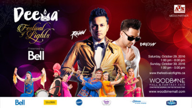 Deewa, the Festival of Lights to feature lead singers like Raghav, Parichay, Pratik Peters, and many more Canadian and international talents (CNW Group/MD Foundation)