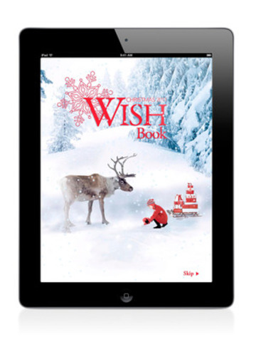 Opening screen of the Wish Book App. (CNW Group/Sears Canada Inc.)