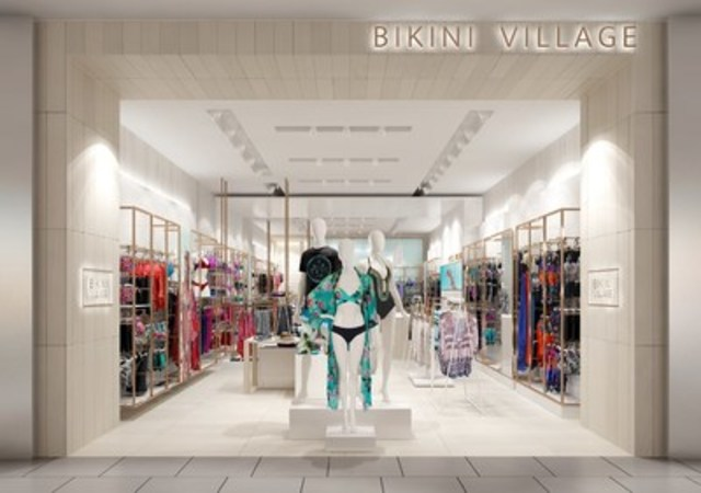 Bikini Village new store design, store front (CNW Group/Bikini Village)