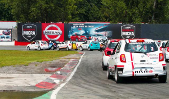 La Coupe Nissan Micra présentait à St-Eustache ses neuvième et dixième épreuves 2015. (Groupe CNW/Nissan Canada Inc.)