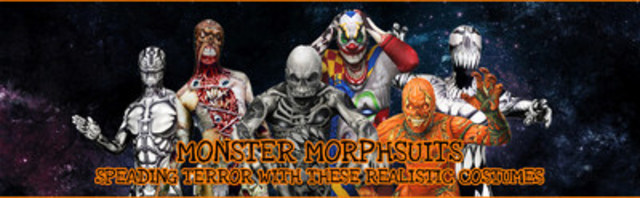 Our Monster Morphsuits section for Haloween (CNW Group/Zentai-Suit.com)