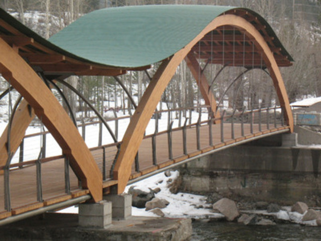 Bridge of Dreams, Princeton, BC (CNW Group/Canadian Wood Council for Wood WORKS! BC)