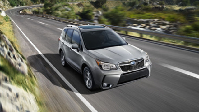 2014 Subaru Forester (CNW Group/Subaru Canada Inc.)