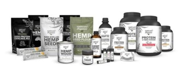 La gamme d'aliments et de produits de soins de la peau fabriqués à base de chanvre au Canada par Mettrum Originals sera au cœur d'une série d'activités publicitaires et de distribution d'échantillons au Molson Canadian Amphitheatre dans le cadre d'un partenariat de trois ans. (Groupe CNW/Mettrum Health Corp.)
