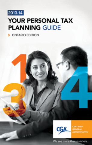 CGA Ontario offers this free tax guide to assist individuals with personal tax planning and compliance. An easy-to-use tax resource that provides quick tax tips, federal and provincial tax updates, and outlines valuable tax credits, benefits and incentives. (CNW Group/Certified General Accountants of Ontario)
