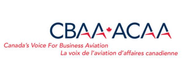 Logo: Canadian Business Aviation Association (CNW Group/Canadian Business Aviation Association (CBAA))