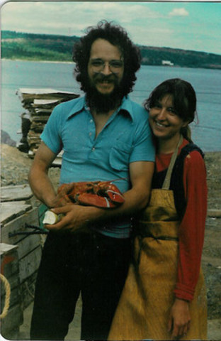 Clearwater co-founder Colin MacDonald with the company's mainstay product in the late 70s (CNW Group/Clearwater Seafoods Incorporated)
