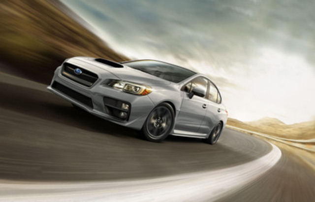 2015 Subaru WRX (CNW Group/Subaru Canada Inc.)