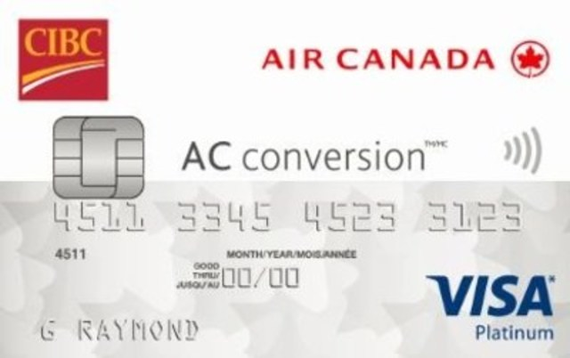 The New Cibc Air Canada Conversion Visa Prepaid Card Holds Up To  Foreign Currencies And