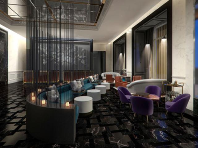 """The Calvin"" Bar at Trump International Hotel & Tower Toronto (CNW Group/INK Entertainment)"