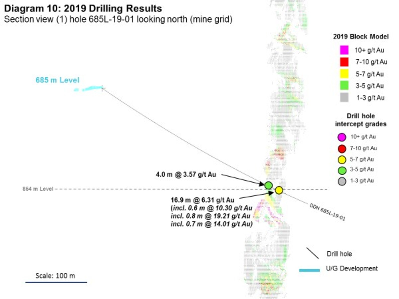 Diagram 10: 2019 Drilling Results