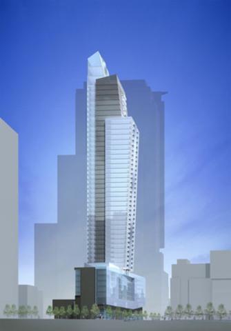 Projet immobilier L'Avenue. (Groupe CNW/Broccolini)
