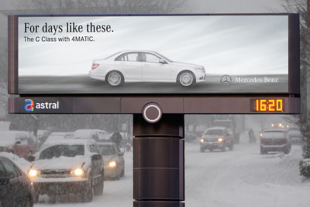 Days like these - Mercedes-Benz Canada 1. (CNW Group/Astral Media Inc.)