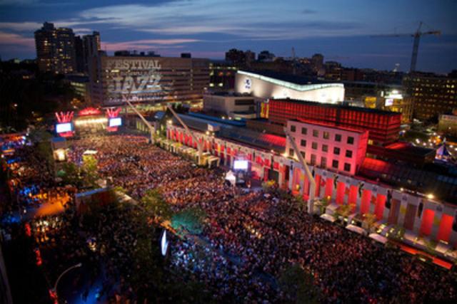 Le Festival International de Jazz de Montréal: une passion musicale. - Festival International de Jazz de Montréal, Jean-François Leblanc, PQ (Groupe CNW/Canadian Tourism Commission)