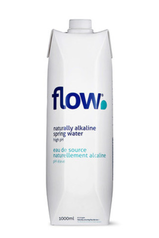 Flow Water launches 1L TetraPak with #DoGood philanthropic efforts (CNW Group/Flow)