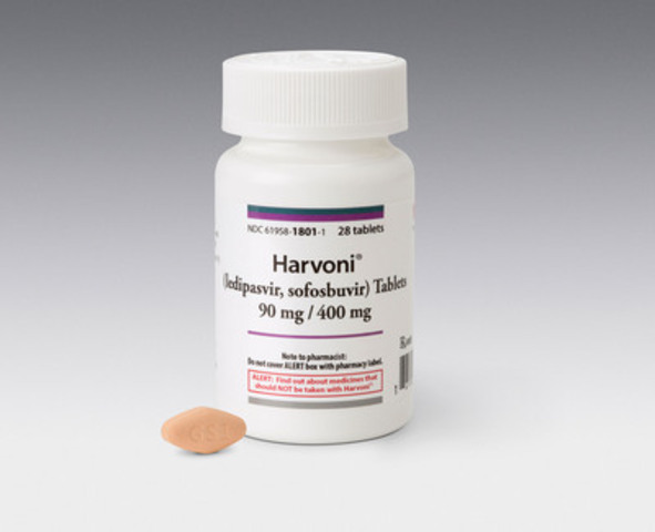 Multiple Provinces Align to Provide Public Funding for Harvoni™, The First Single Tablet Regimen for the Treatment of Genotype 1 Chronic Hepatitis C Virus Infection (CNW Group/Gilead Sciences, Inc.)