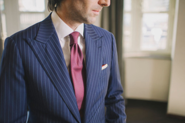 The Garrison Bespoke bulletproof suit is a discreet and stylish alternative to the traditional bulky Kevlar vest (CNW Group/Garrison Bespoke)