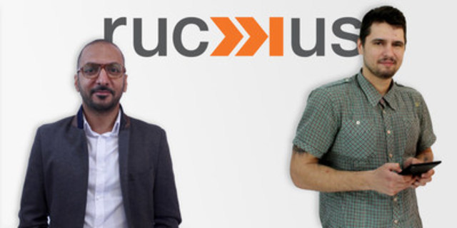 Introducing Moe Arora & Serge Leshchuk to ruckus digital (CNW Group/ruckus digital)
