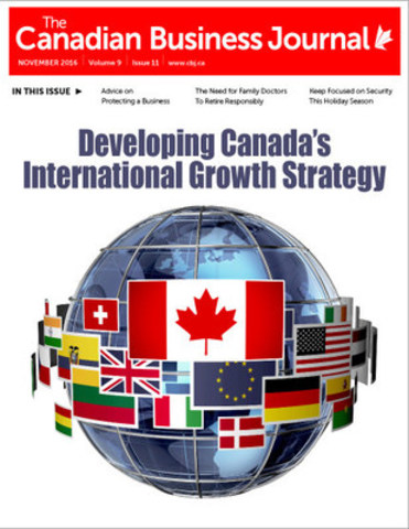 Canadian Business Journal, November 2016 Issue (CNW Group/The Canadian Business Journal)
