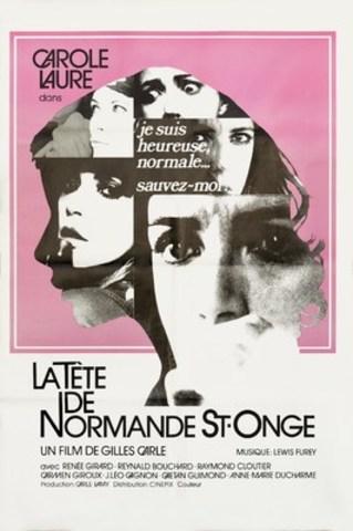Affiche de La Tête de Normande St-Onge, un film de Gilles Carle restauré par Éléphant : mémoire du cinéma québécois. (Groupe CNW/Québecor)