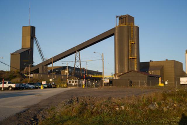La mine David Bell, une mine souterraine, se trouve sur la propriété Hemlo de la Société aurifère Barrick, à quelque 350 km à l'est de Thunder Bay, en Ontario. Les mines Williams et David Bell partagent les mêmes installations de broyage, de traitement et de gestion des résidus à Hemlo. (Groupe CNW/Mining Association of Canada (MAC))