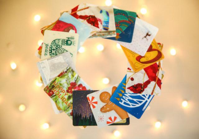 Achats record de cartes Starbucks prévus la veille de Noël (Groupe CNW/Starbucks Coffee Canada)